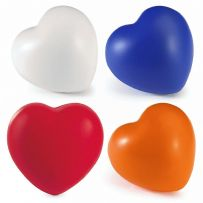 Anti Stress Heart - Stress Relieving at Home Office Kids Adult Unisex Shaped Ball
